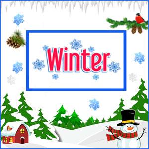 Winter Theme Tambola